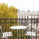 Lovely balcony Paris 6